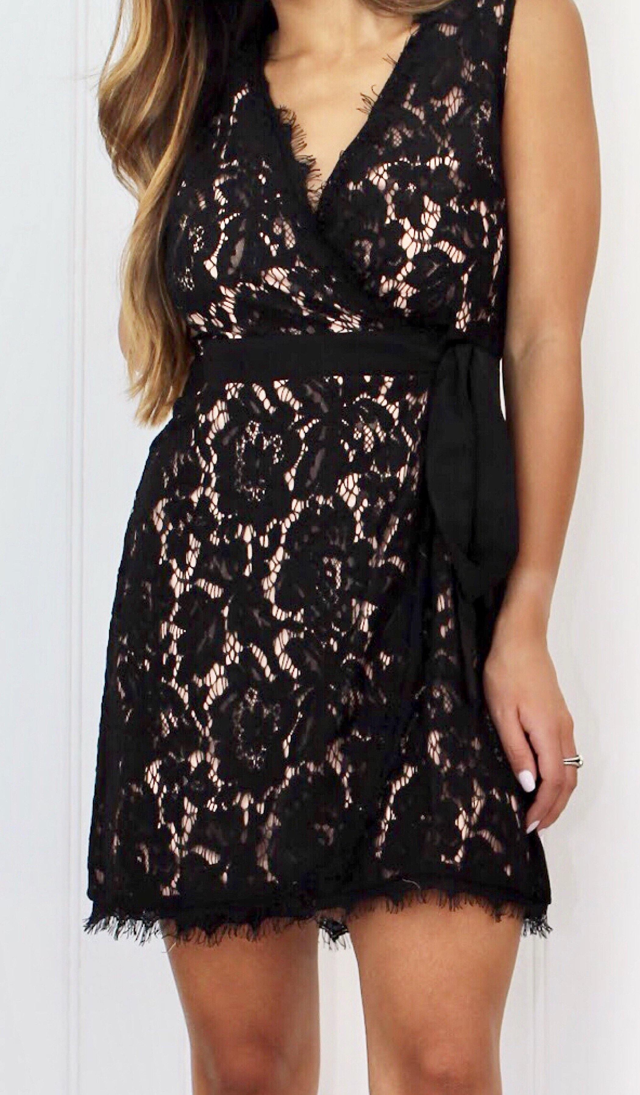 HOPE LACE DRESS - elbie boutique, LLC