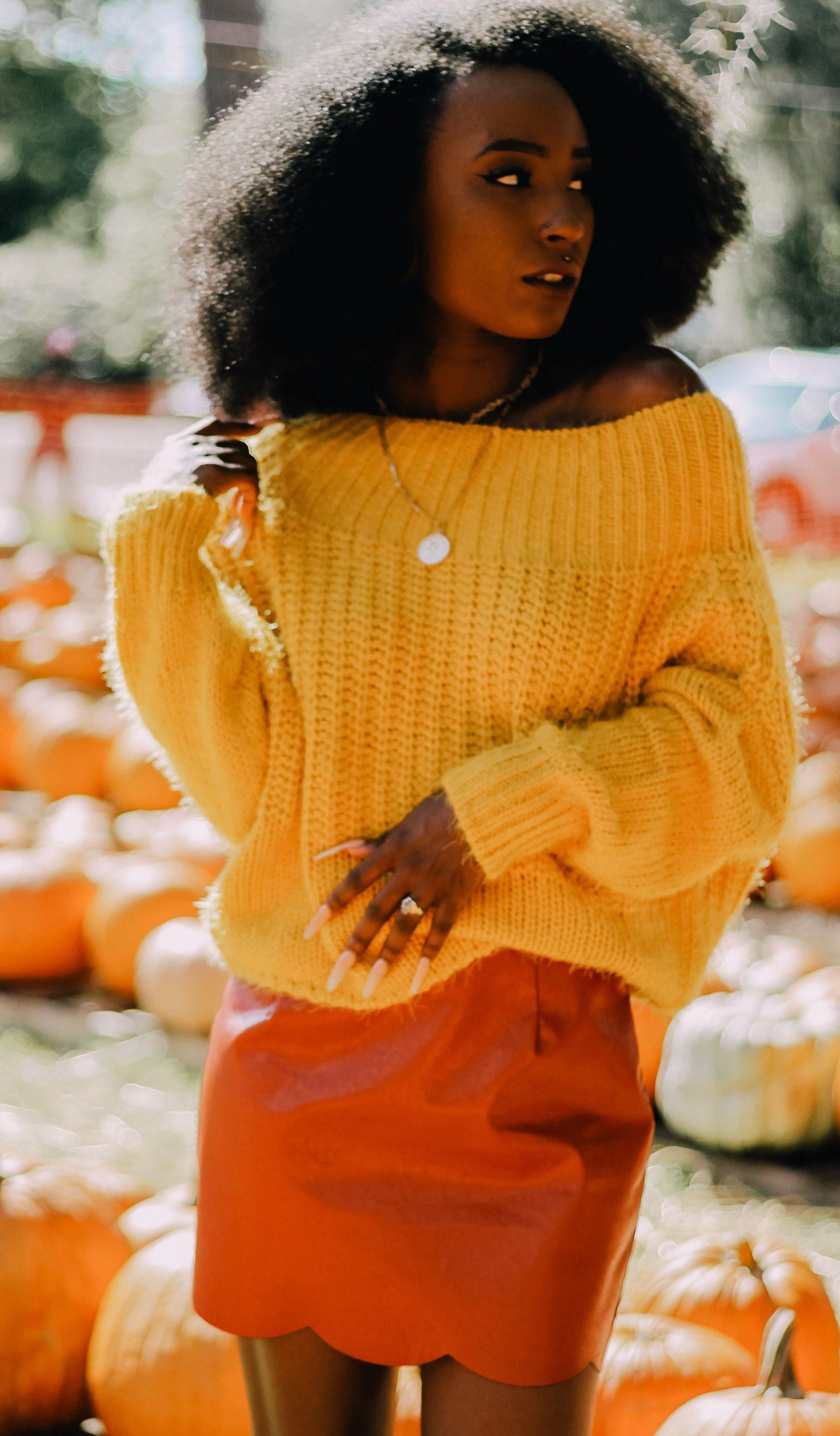 KORI OFF THE SHOULDER SWEATER