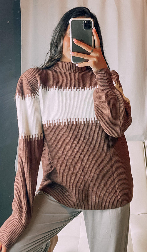 COFFEE BREAK SWEATER - elbie boutique, LLC