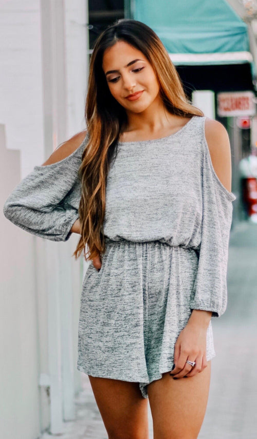 COZY ROMPER - elbie boutique, LLC