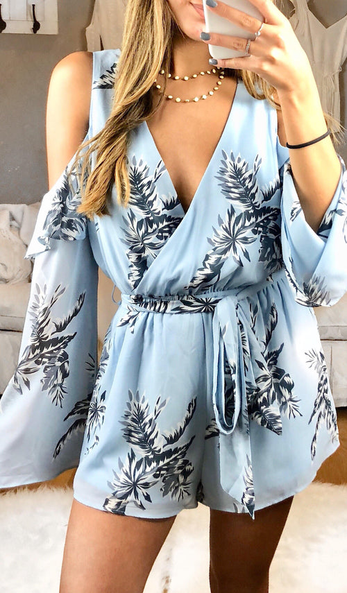 BETHANY ROMPER - elbie boutique, LLC
