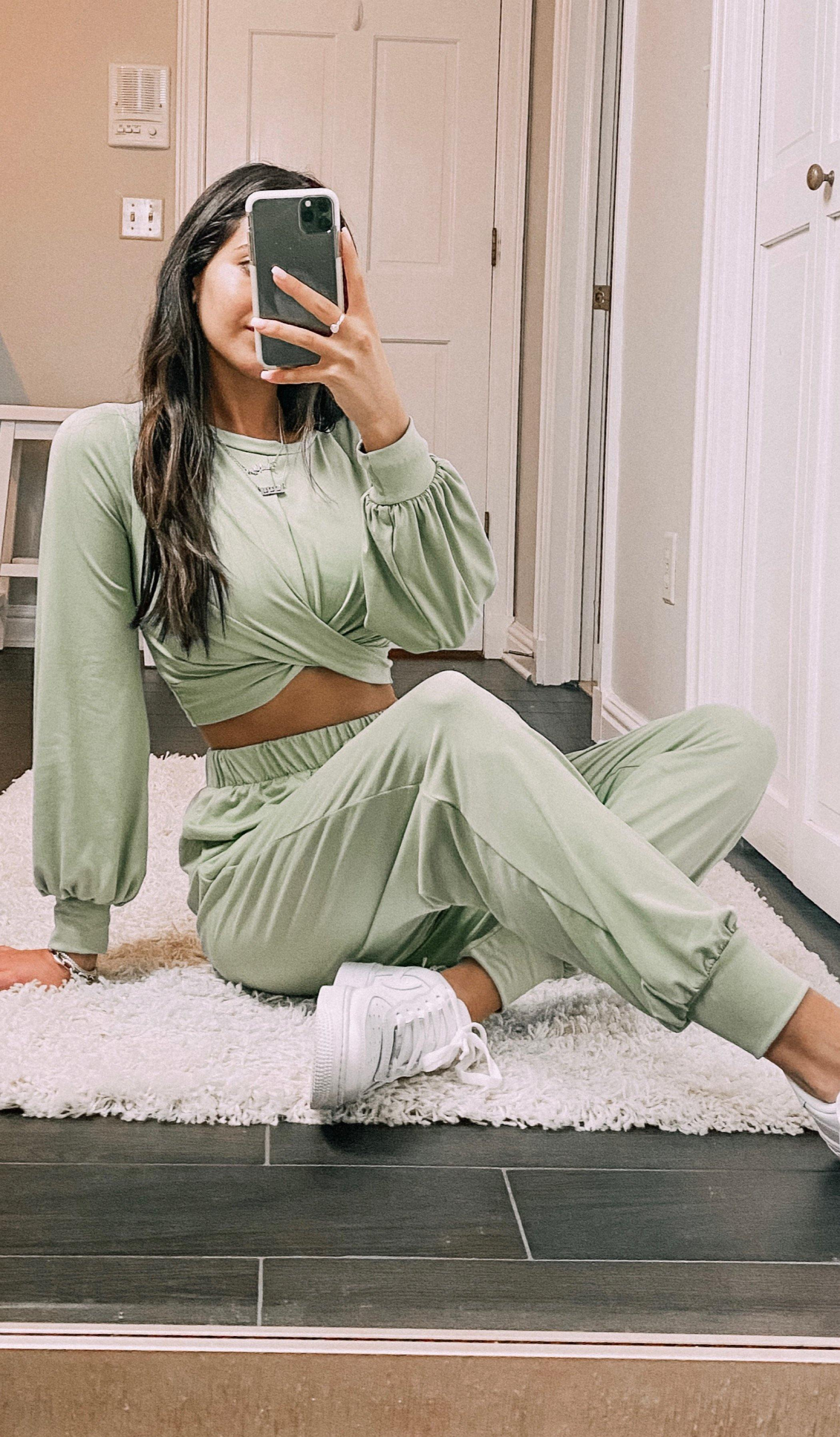 ASHLYN TWO-PIECE JOGGER SET
