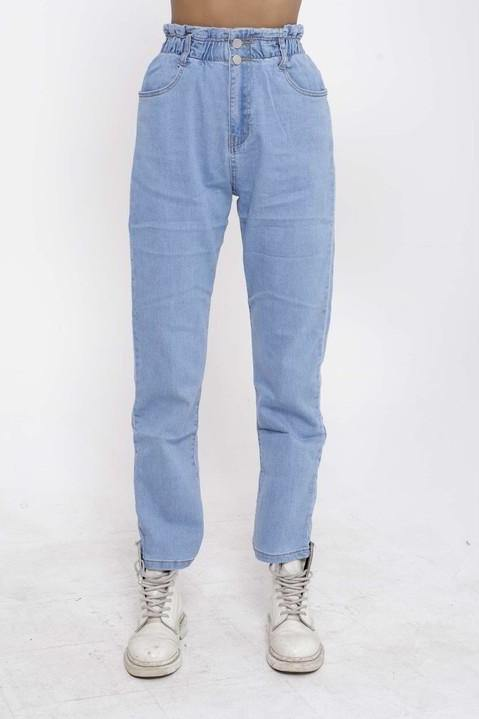 Jaden Paperbag Waist Denim Mom Jeans