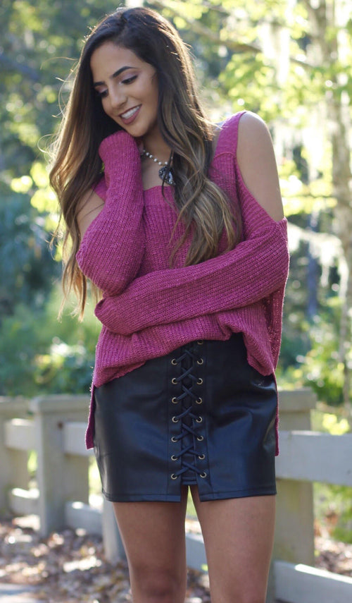 ELLIE SWEATER - elbie boutique, LLC