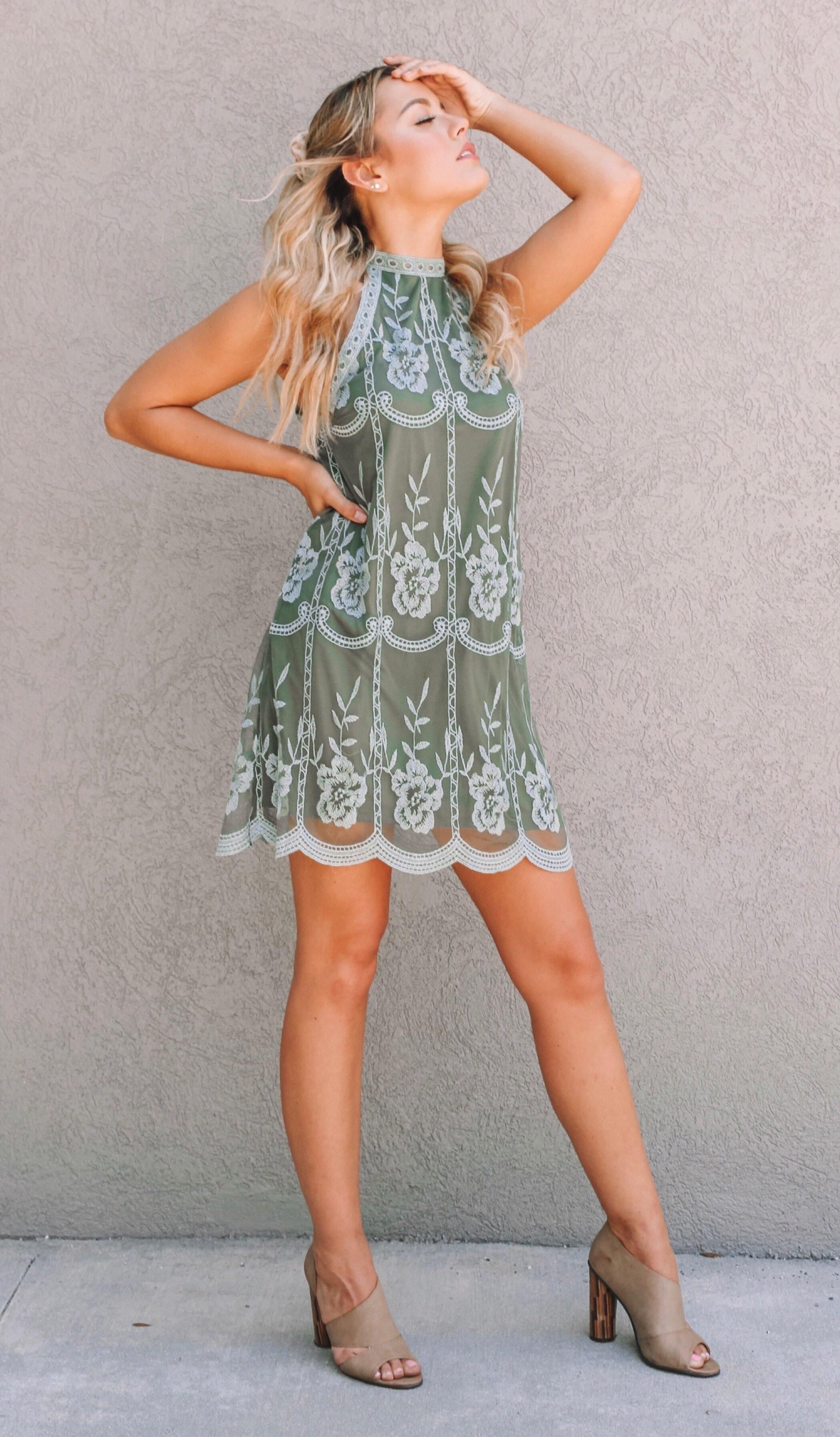 SOFIA HALTER DRESS - elbie boutique, LLC