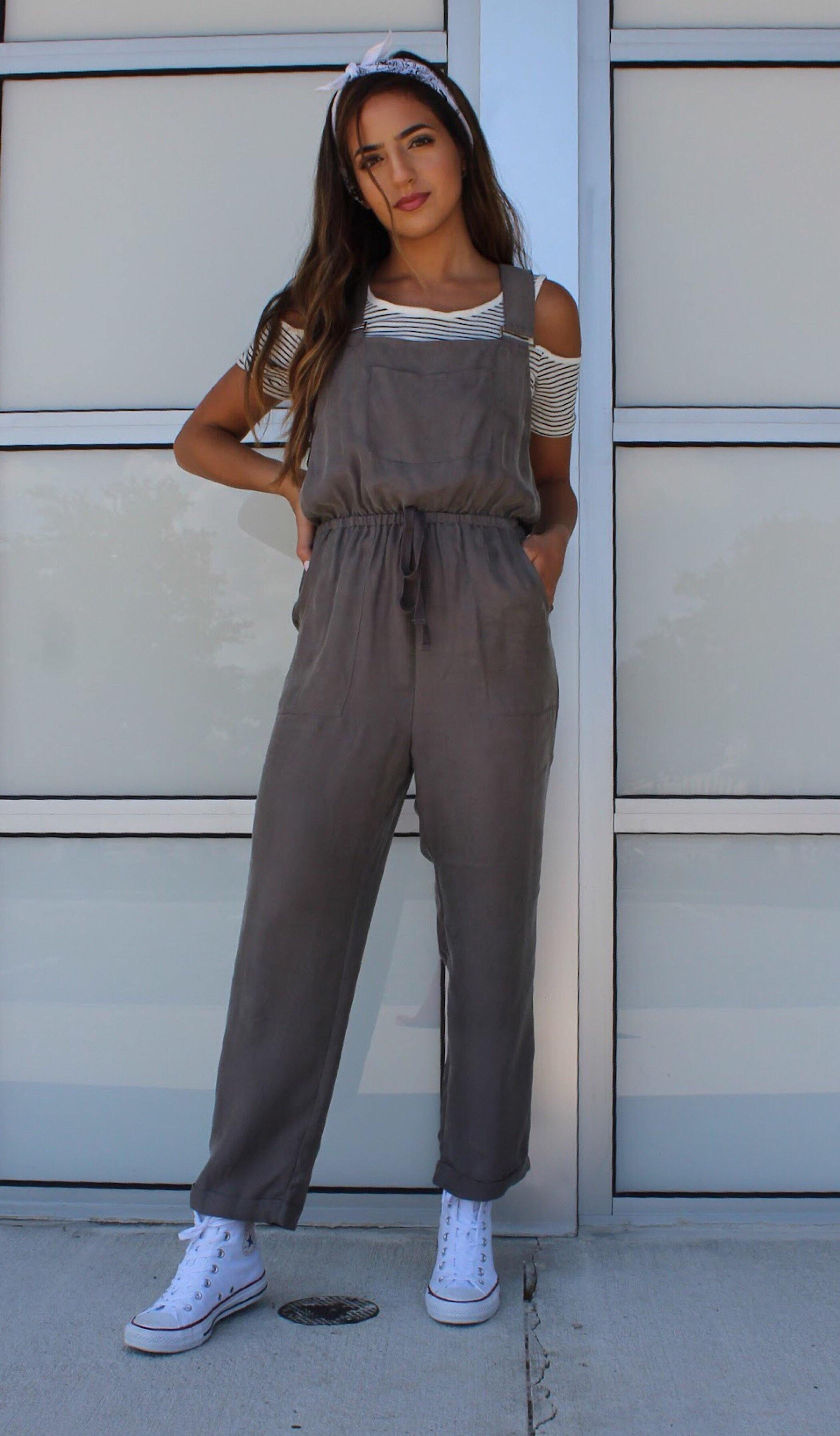 CROPPED OVERALLS - elbie boutique, LLC
