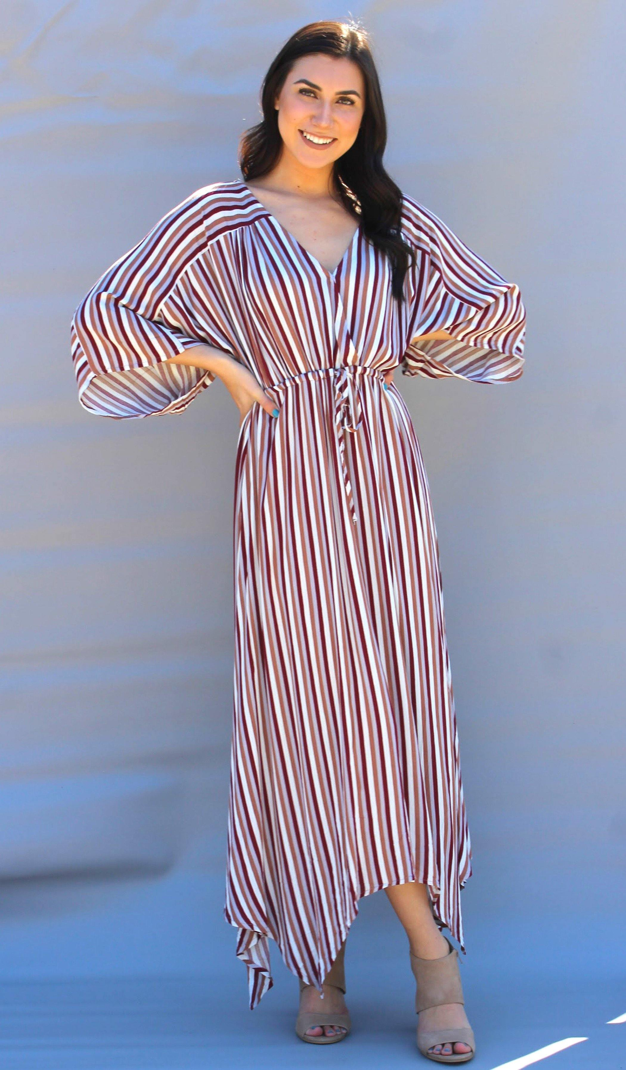 CAMBREE STRIPE DRESS