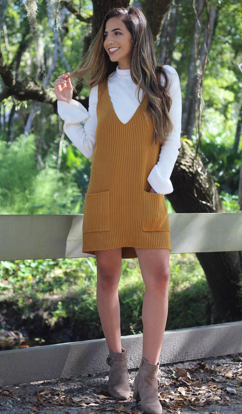 NATALIE SWEATER DRESS - elbie boutique, LLC