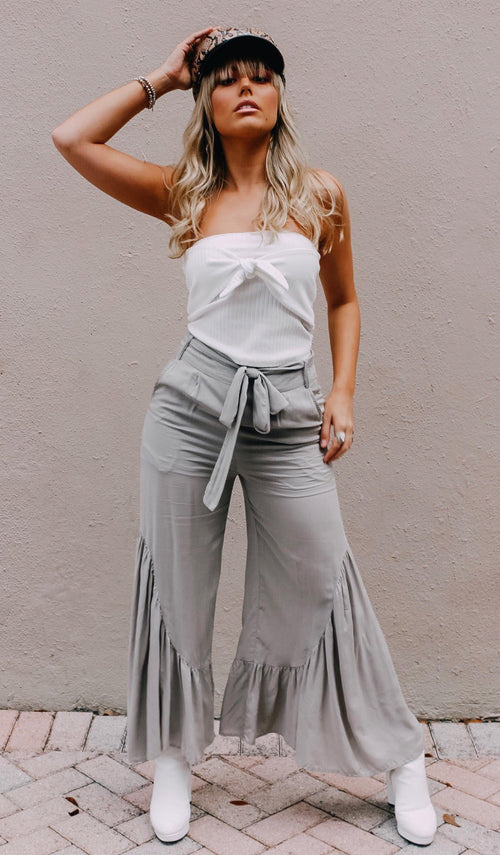 BRAYDEN BOHO PANTS - elbie boutique, LLC