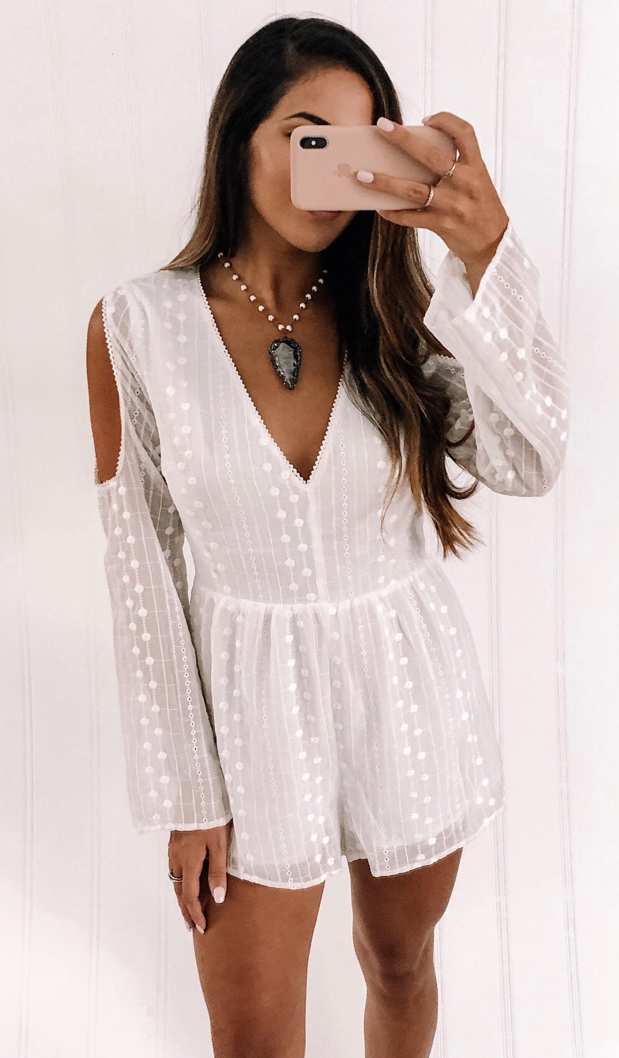 HEAVEN ROMPER - elbie boutique, LLC