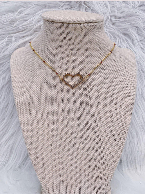 RAW & REBELLIOUS LOVE DEEPLY NECKLACE