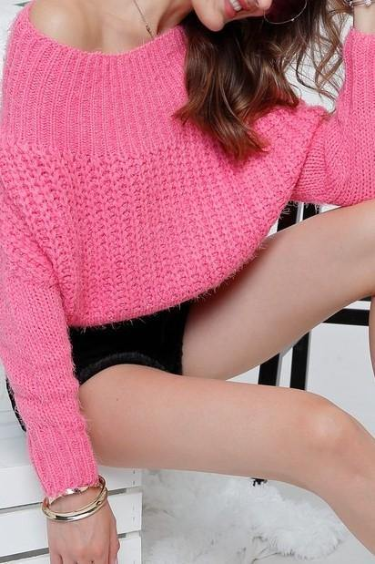 COTTON CANDY SWEATER - elbie boutique, LLC