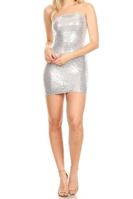 NIGHT OUT SEQUIN DRESS - elbie boutique, LLC