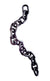 "12"" Decor Link Chain Hammered Steel"