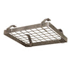 Low-Ceiling Square w/ 6 Hooks Hammered Steel - Enclume Design Products