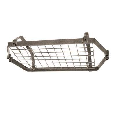 Low-Ceiling Retro Rectangle Pot Rack w/ 12 Hooks