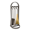 Arch Fireplace Tool Set Hammered Steel - Enclume Design Products