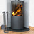 Indoor/Outdoor Round Fireplace Tool Set