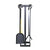 Indoor/Outdoor Square Fireplace Tool Set
