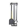 Indoor/Outdoor Square Fireplace Tool Set w/ Handle - Enclume Design Products