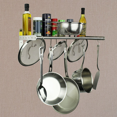 Habitat Stainless Steel Wall Shelf - Enclume Design Products