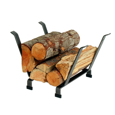 Basket Indoor/Outdoor Fireplace Log Rack - Enclume Design Products