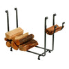 Large Rectangle Fireplace Log Rack Hammered Steel - Enclume Design Products