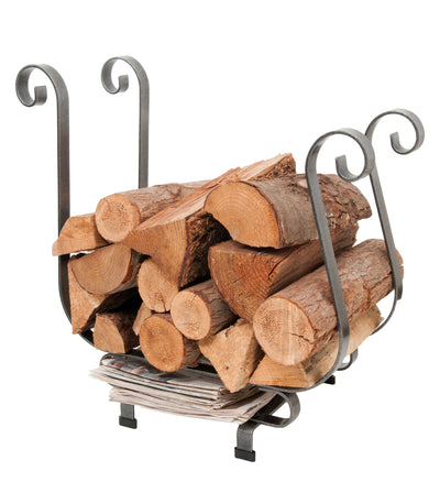 Handcrafted Sleigh Log Rack
