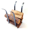 Tulip Fireplace Log Rack Hammered Steel - Enclume Design Products