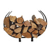 Indoor/Outdoor Large U Shaped Fireplace Log Rack - Enclume Design Products