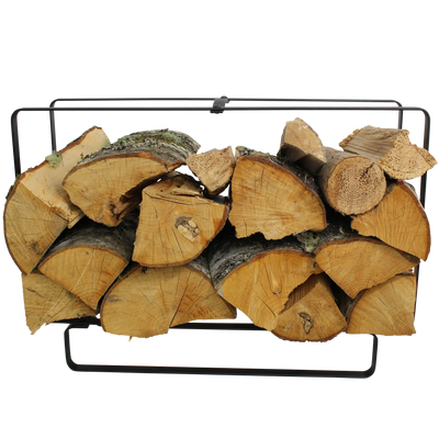 Indoor/Outdoor Medium Rectangular Fireplace Log Rack - Enclume Design Products