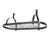 Rack It Up Oval Ceiling Rack w/ 12 Hooks Steel Gray Hammertone