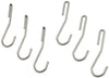 Rack It Up Pot Hooks 6 Pack Silver - Enclume Design Products
