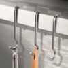 "4.5"" Straight Pot Hooks 6 Pack Blister - Enclume Design Products"