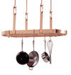 Four Point Oval Ceiling Pot Rack w/ 18 Hooks - Enclume Design Products