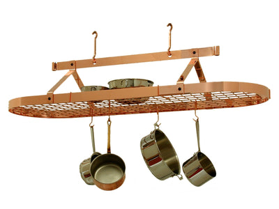 Oval Ceiling Pot Rack w/ Hooks - Enclume Design Products