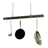 "Professional Series Offset Hook Ceiling Bar (36"", 48"", 60"") - Enclume Design Products"