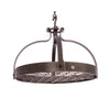 Dutch Crown Ceiling Pot Rack w/ 18 Hooks (12 Angled & 6 Straight) - Enclume Design Products