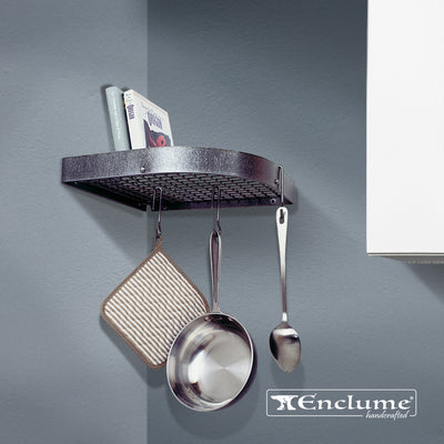 Corner Wall Rack - Enclume Design Products