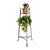 3-Tier Designer Stand Hammered Steel