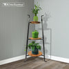 3-Tier Designer Stand w Alder Shelves - Enclume Design Products