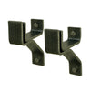 "4"" Wall Brackets For Roll End Bar (Set of 2)"