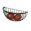 Wire Fruit Basket Hammered Steel - Enclume Design Products