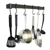 Professional Series Wall Rack Utensil Bar w/ 6 Hooks - Accent Colors