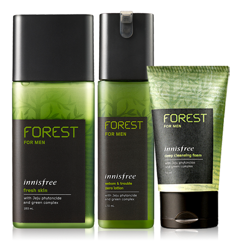 [Innisfree] Forest For Men Moisture Set