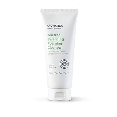 Aromatica Tea Tree Balancing Foaming Cleanser