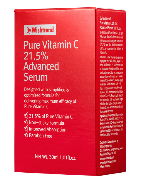 [By Wishtrend] Pure Vitamin C 21.5% Advanced Serum
