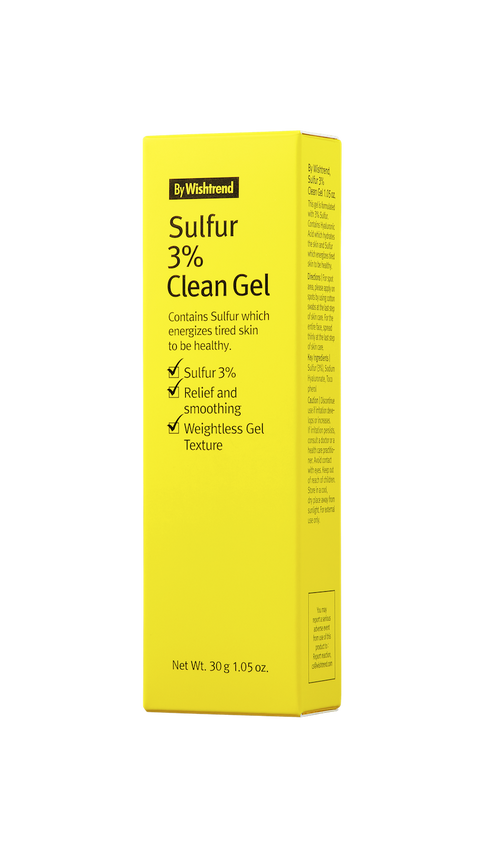 [By Wishtrend] Sulfur 3% Clean Gel