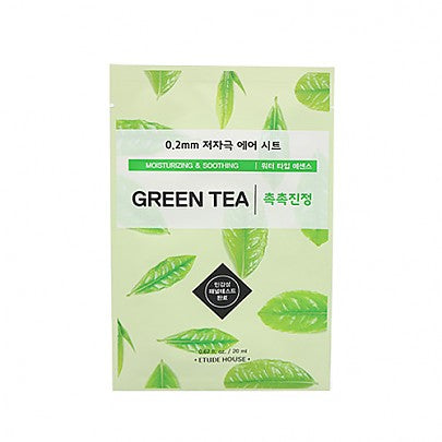 [Etude House] 0.2mm Therapy Air Mask Green Tea