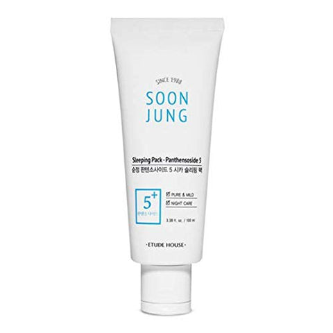 [Etude House] SoonJung 5 Panthensoside Cica Sleeping Pack